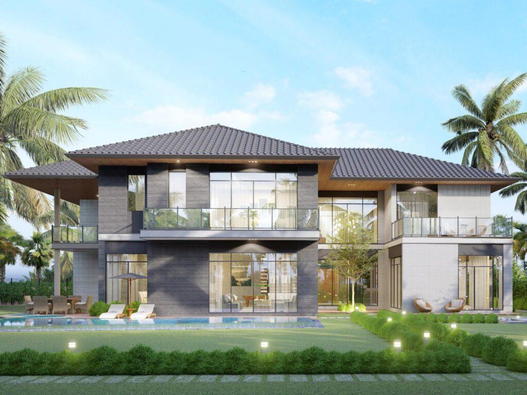 Riverfront Grand Villa mẫu 1 dự kiến