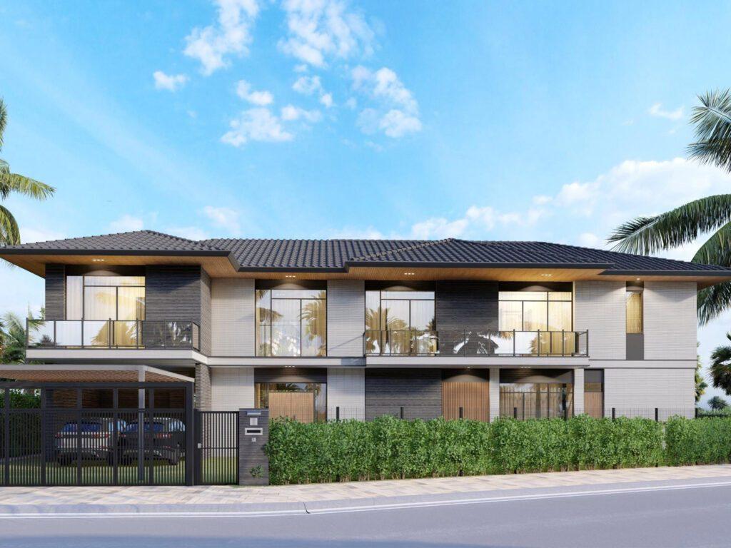 Riverfront Grand Villa mẫu 2 dự kiến
