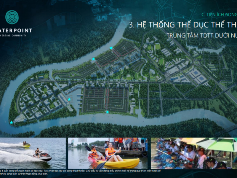Hệ thống thể dục thể thao – Trung tâm TDTT dưới nước