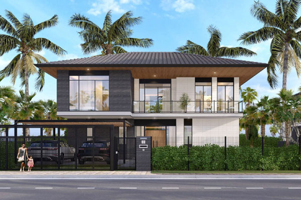 Riverfront Grand Villa mẫu 05C dự kiến