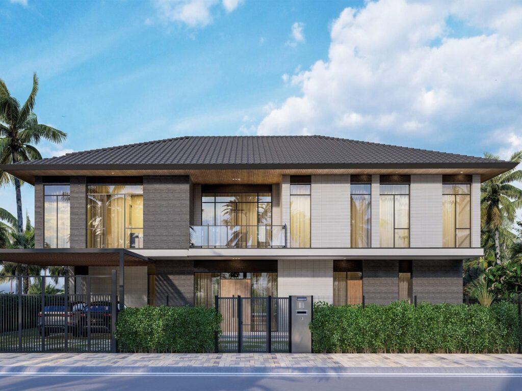 Riverfront Grand Villa mẫu 3 dự kiến