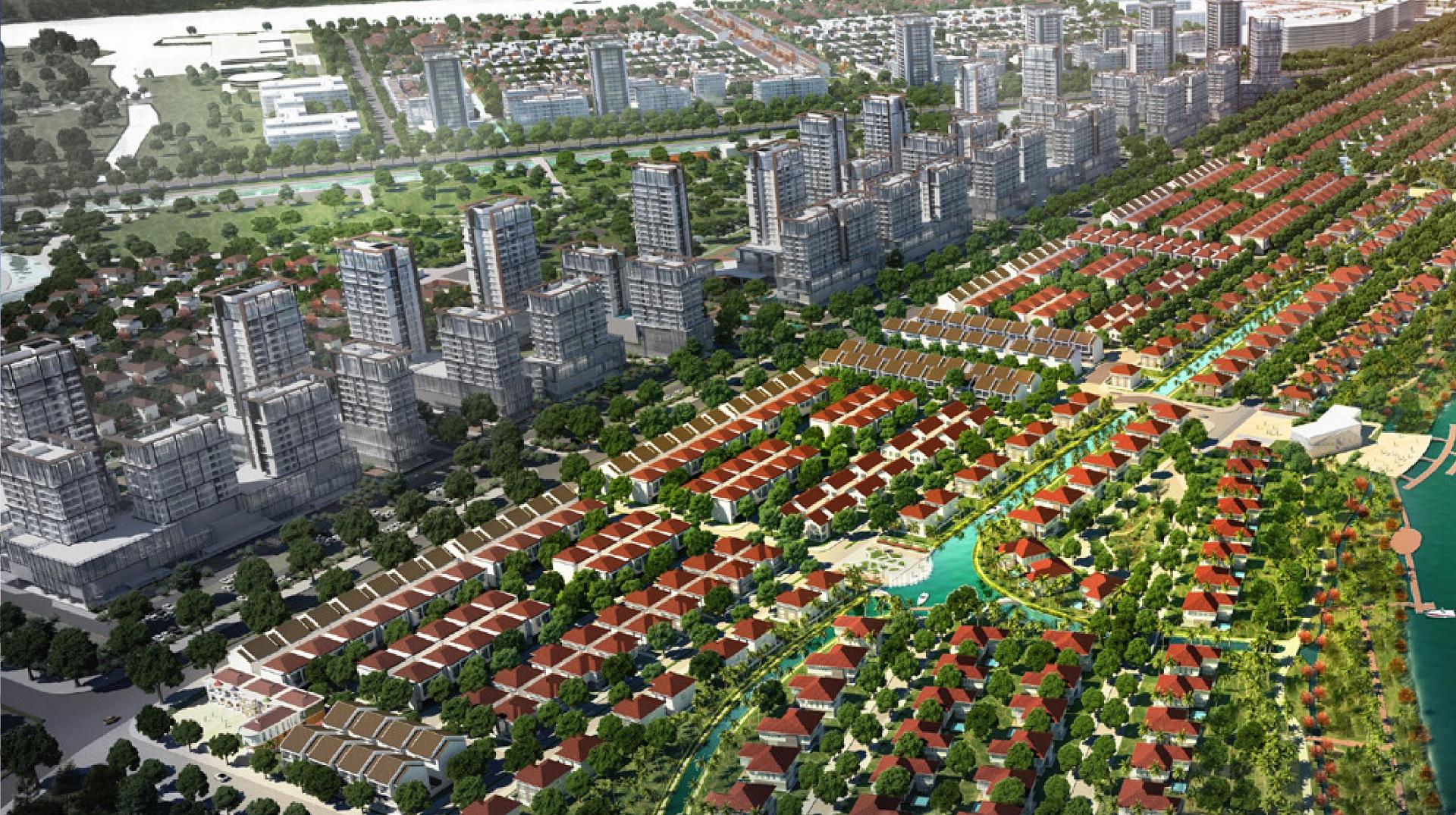Dự án Waterpoint Nam Long- Khu đô thị hiện đại hàng đầu Việt Nam