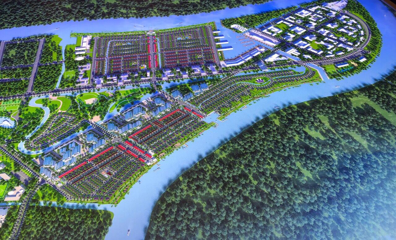 Toàn cảnh mặt bằng tổng thể dự án Waterpoint Nam Long