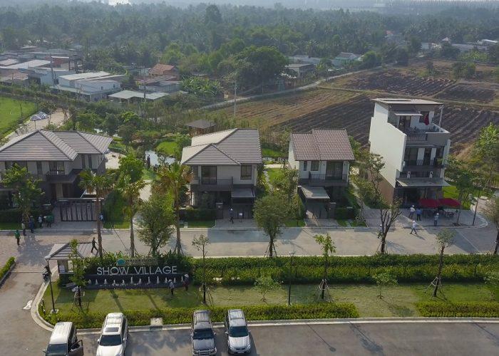 Nhà mẫu biệt thự Waterpoint Nam Long