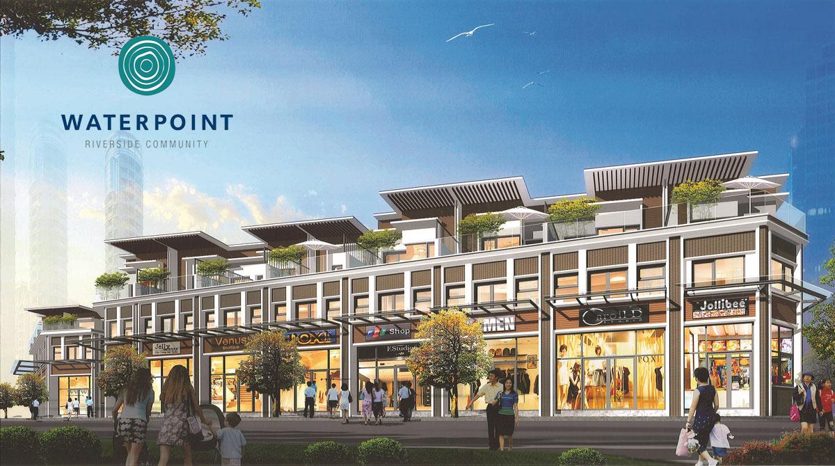 Shophouse là một trong những sản phẩm thu hút nhà đầu tư trong mỗi dự án đất nền vùng ven trong năm 2019.