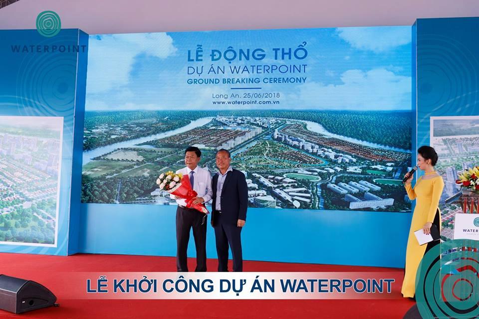 Lễ động thổ dự án Waterpoin Nam Long