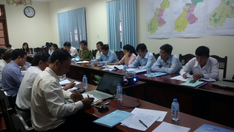 Hội đồng thẩm định Quy hoạch tổng thể phát triển kinh tế - xã hội Thị xã Kiến Tường, tỉnh Long An đến năm 2020 và tầm nhìn đến năm 2030.