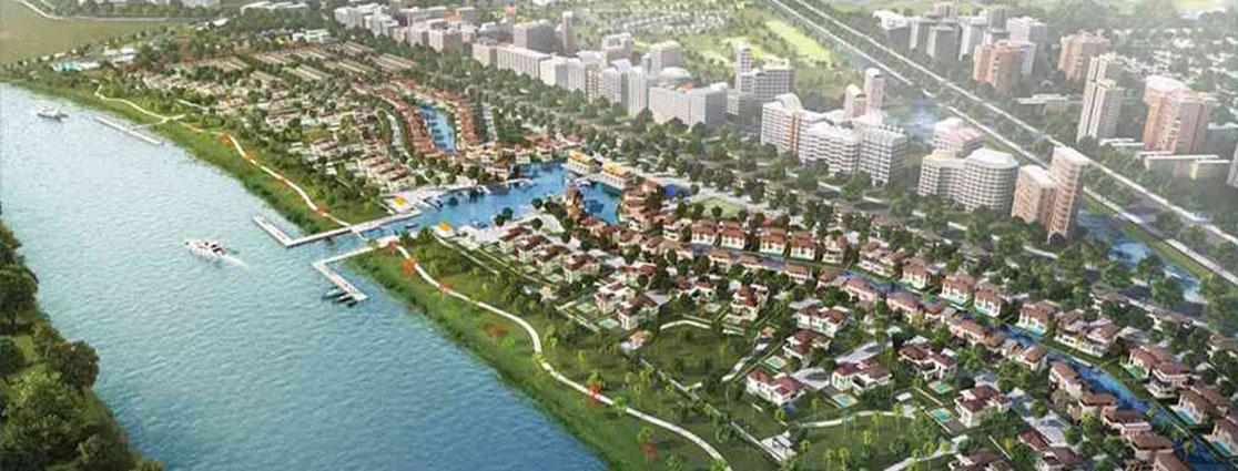 Toàn cảnh dự án khu đô thị Waterpoin Nam Long