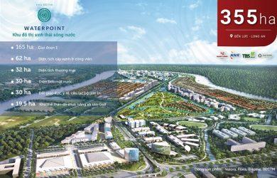 Quy mô khu đô thịWaterpoint Nam Long