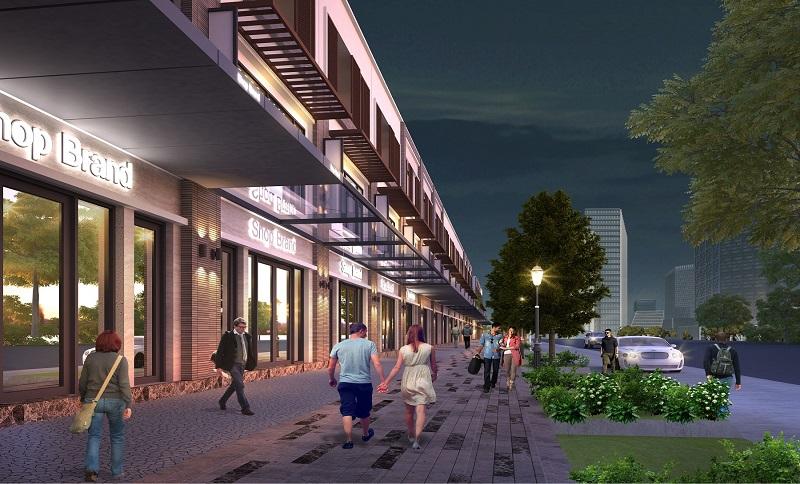 Nhà phố thuong mại - Shophouse Waterpoint Nam Long (hình ảnh 1)