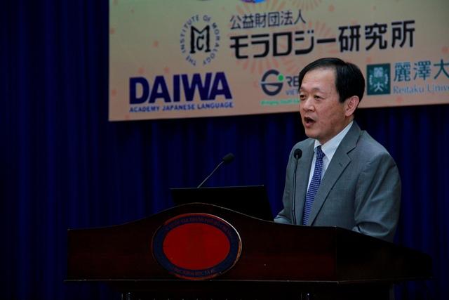 Ông Hosoya Kazunori, Phó Tổng lãnh sự quán Nhật Bản tại TP. Hồ Chí Minh