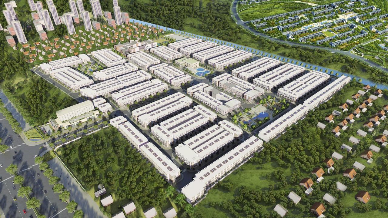 Phối cảnh dự án Waterpoint Nam Long
