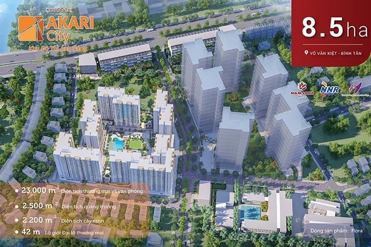 Dự án khu đô thị ánh sáng Akari City
