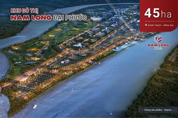 Dự án Khu đô thị Nam Long Đại Phước