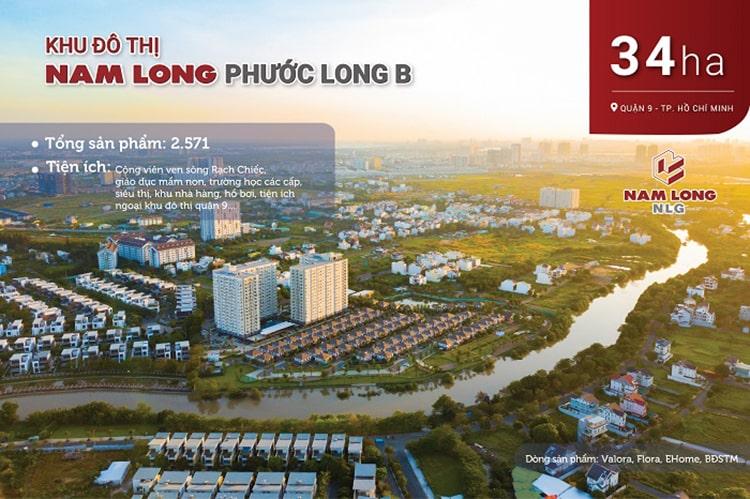 Dự án Khu đô thị Nam Long Phước Long B