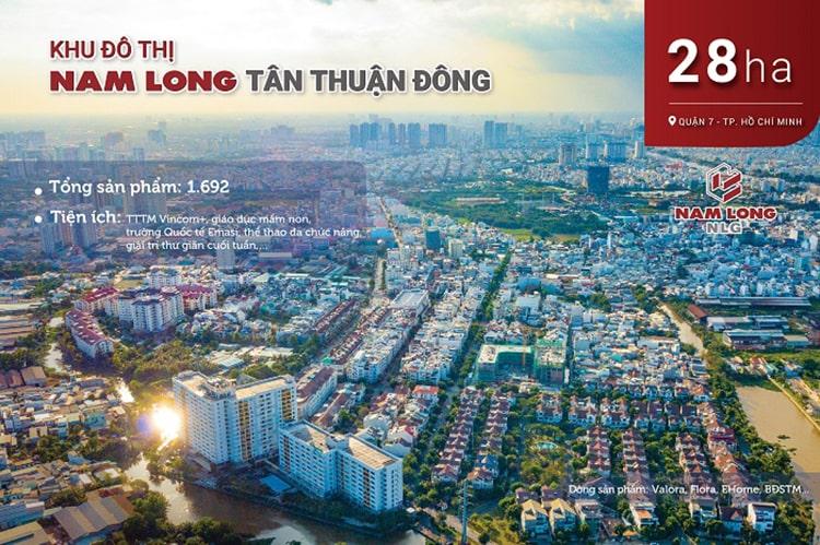 Dự án Khu đô thị Nam Long Tân Thuận Đông