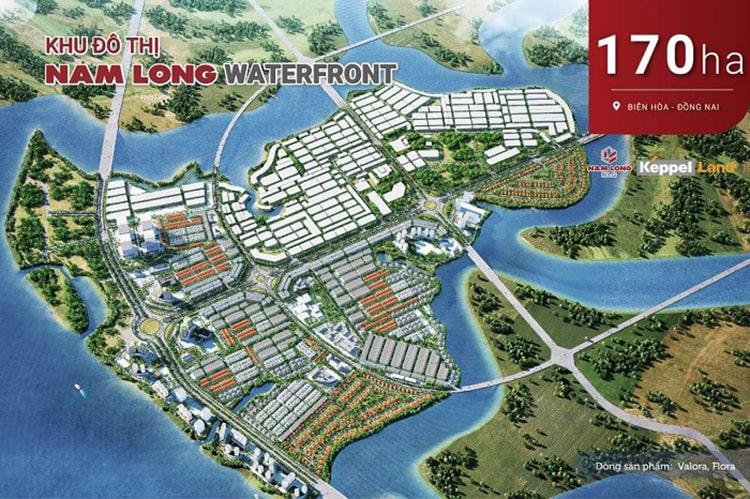 Dự án Khu đô thị Nam Long Waterfront