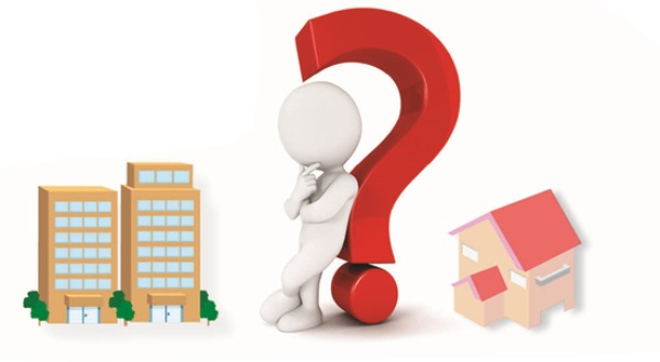Chọn mua nhà phố hay căn hộ chung cư ?
