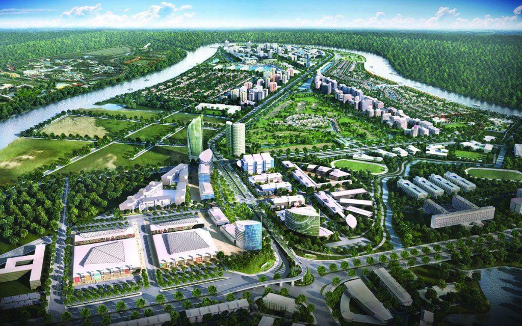 Dự án Waterpoint tại Long An có vị trí đắc địa với tổng diện tích hơn 355ha
