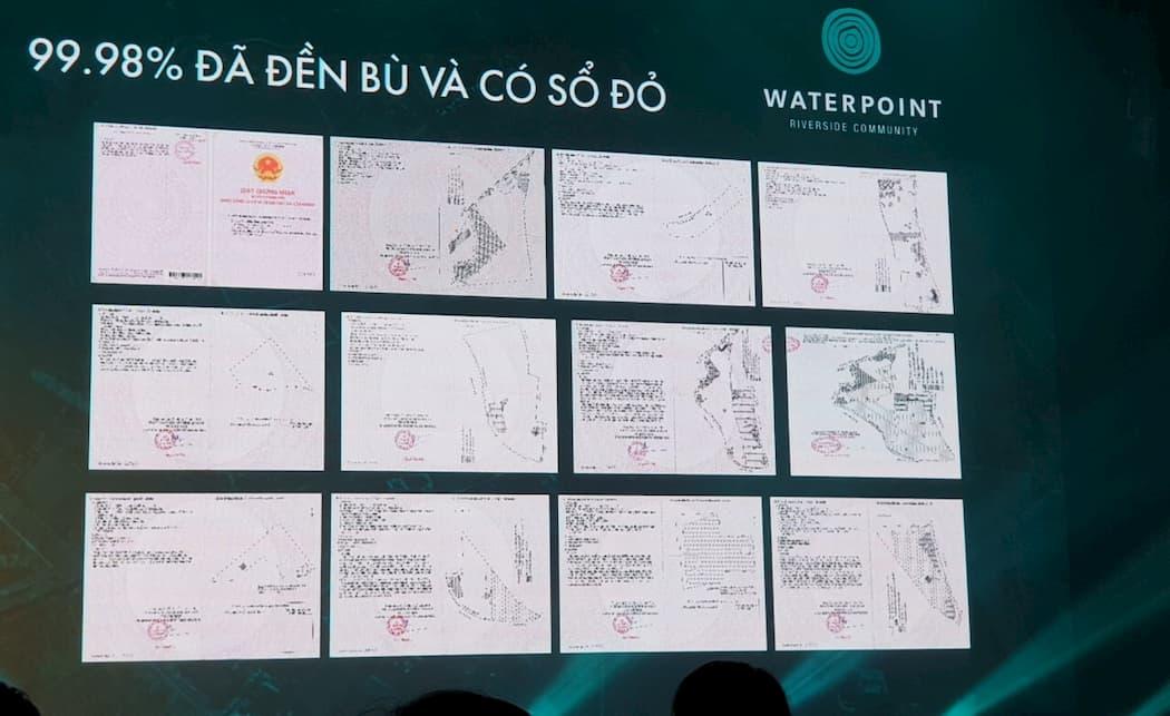 Pháp lý dự án Waterpoint Nam Long