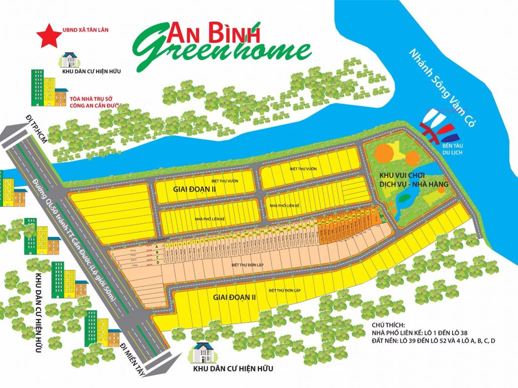Khu Đô Thị An Bình Green Home