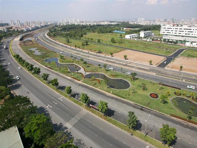 TPHCM: Khánh thành Đại lộ Nguyễn Văn Linh