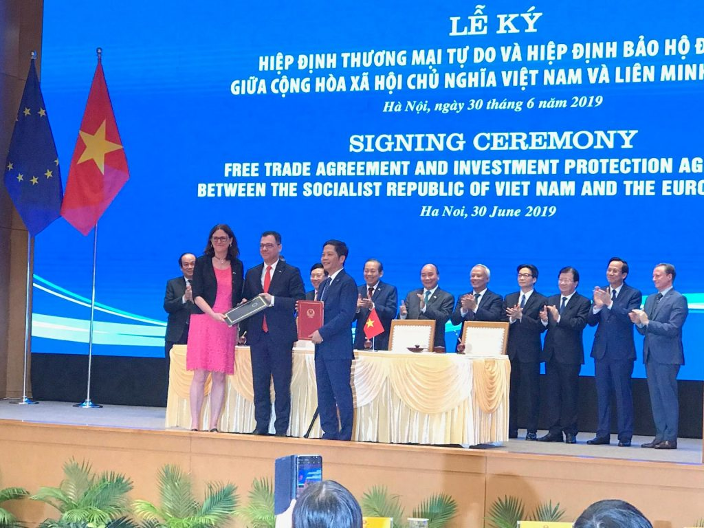 Ký kết EVFTA-EVIPA: Thúc đẩy mạnh mẽ phát triển kinh tế Việt