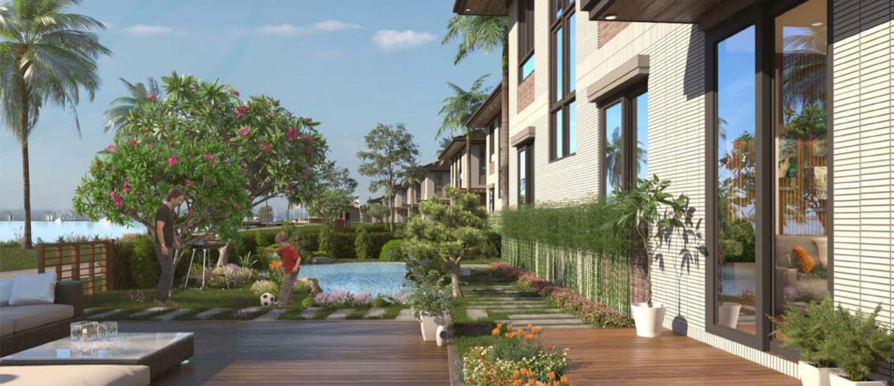 mẫu thiết kế dinh thự Waterpoint Nam Long