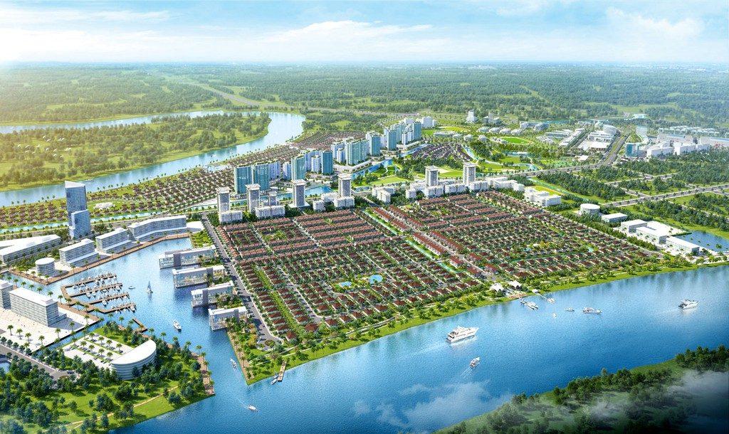 """""""Thành phố bên sông"""" Waterpoint được quy hoạch mang tầm quốc tế với hệ sinh thái tiện ích hoàn chỉnh"""