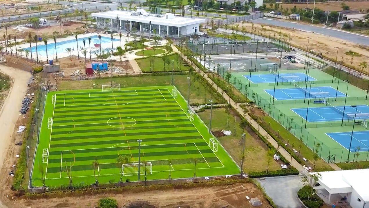 Sân bóng đá dự án Waterpoint Nam Long