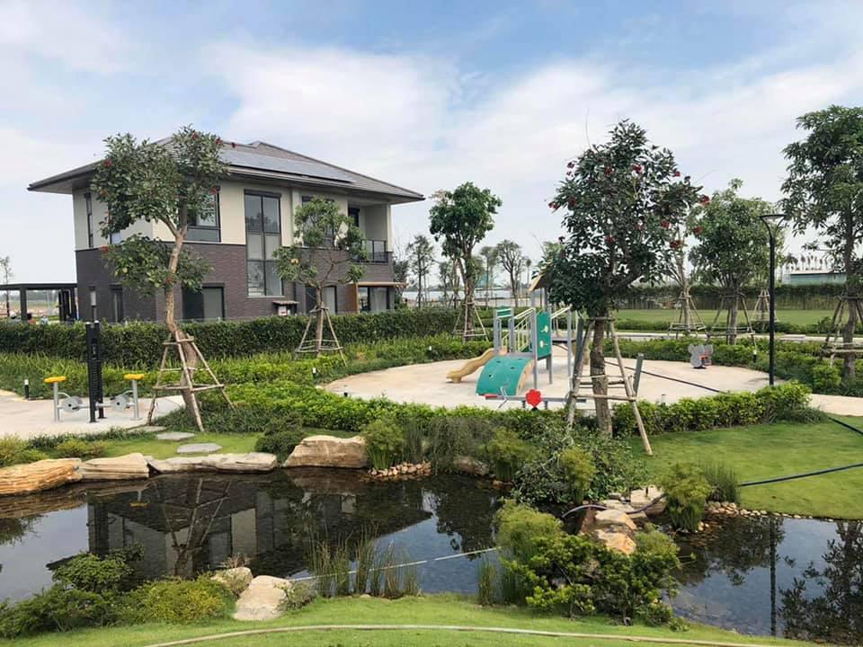 Sân vườn Waterpoint Nam Long