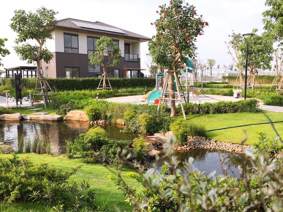 Nhà mẫu nhà phố vườn Waterpoint