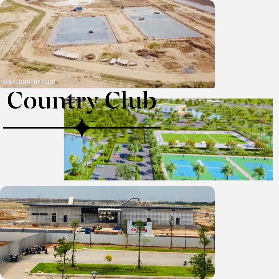 Phối cảnh và thực tế khu Country Club