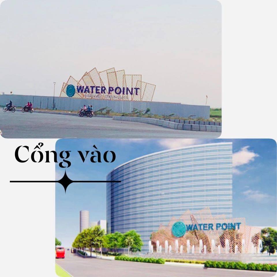Phối cảnh và thực tế cổng vào dự án Waterpoint
