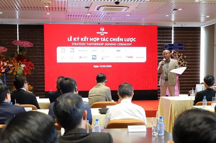 Lễ ký kết hợp tác chiến lược giữa Nam Long và các nhà cung cấp tư uy tín