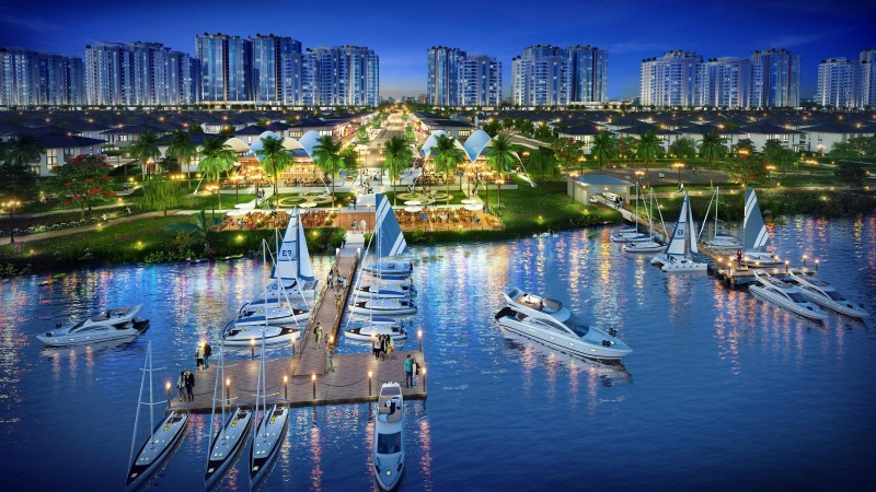 Bến du thuyền mang đến những trải nghiệm đẳng cấp cho cư dân Waterpoint