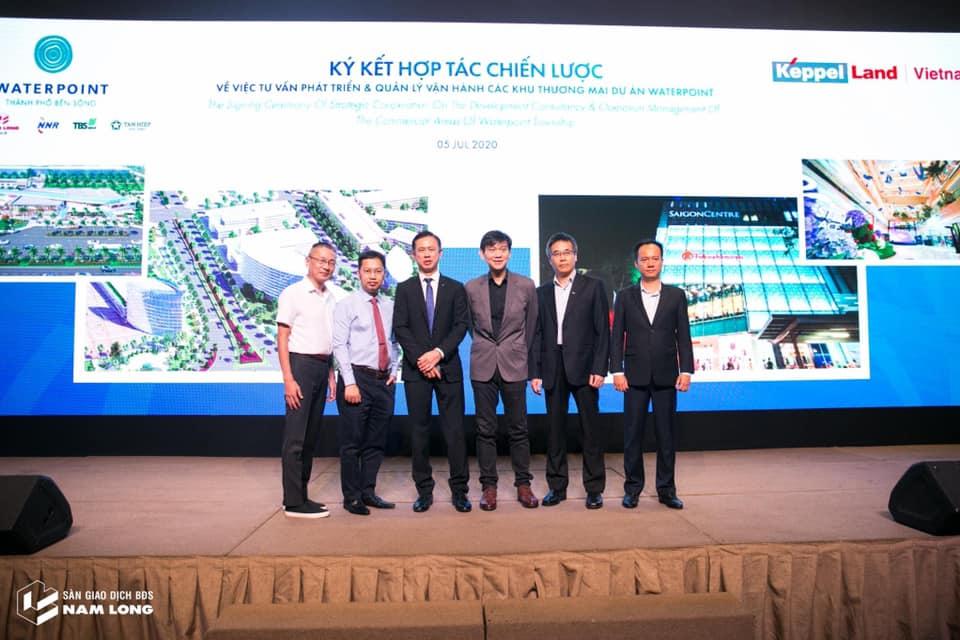 Nam Long ký kết chiến lược với Keppel Land về phát triển quỹ đất thương mại tại Waterpoint