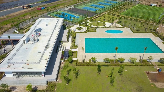 Một góc Country Club 3 hecta của Waterpoint