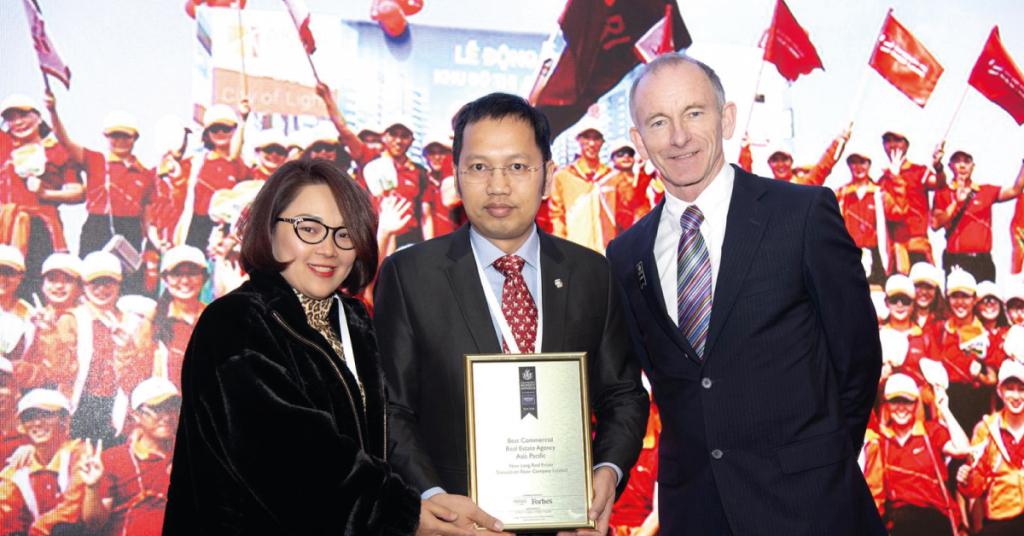 Sàn Nam Long nhận giải thưởng Sàn Quốc tế xuất sắc 2019 - 2020 tại Anh Quốc