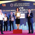 Sàn Nam Long được vinh danh Top 10 Sàn Giao dịch BĐS Tiêu Biểu khu vực miền Nam năm 2019