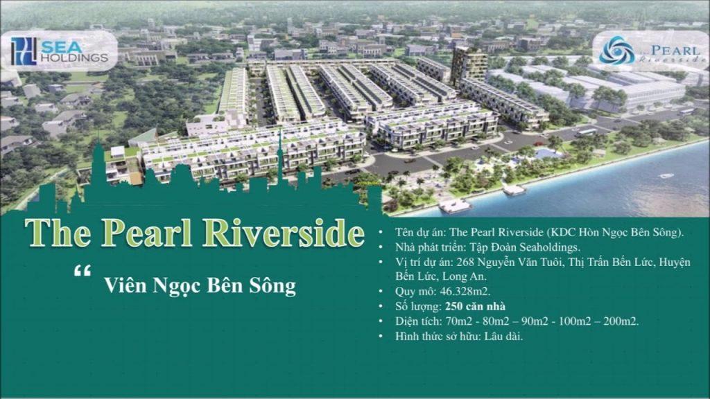 Khu nhà ở The Pearl Riverside Long An