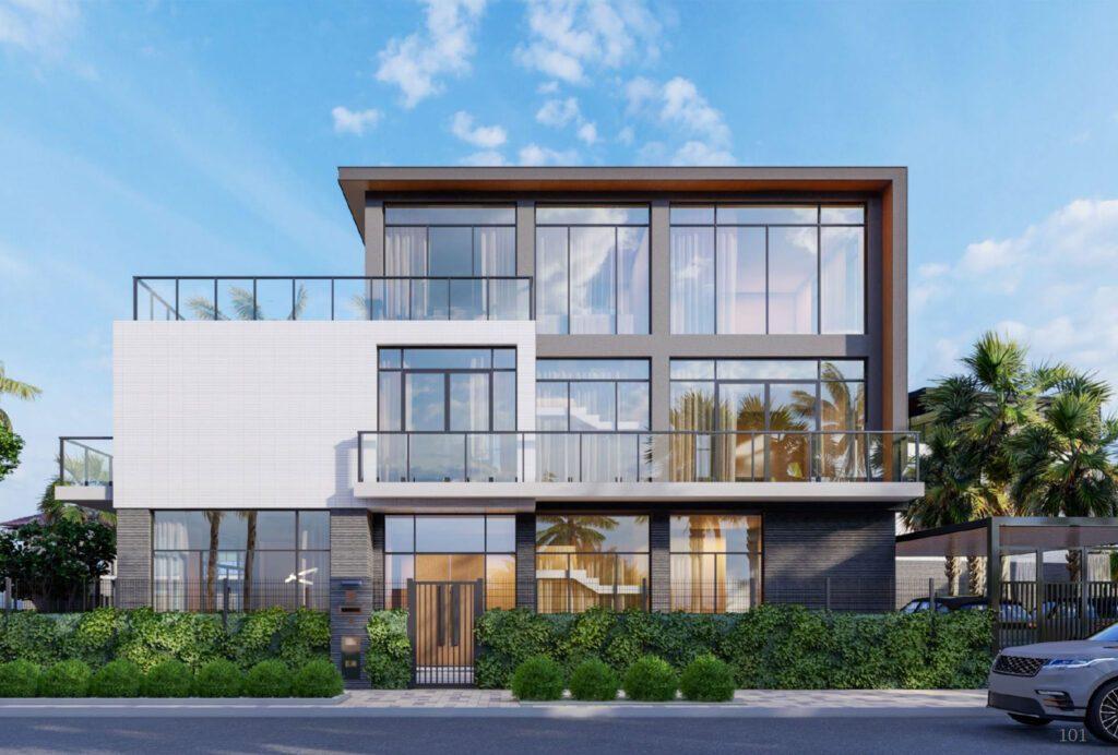 Một trong những mẫu Riverfront Grand Villa cao cấp được thiết kế bởi TwoG Architecture.
