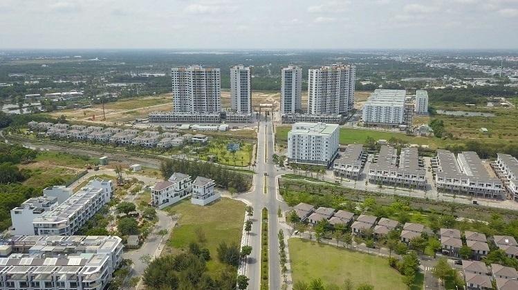 Một góc khu đô thị quy mô 26 ha do Công ty Nam Long triển khai tại TP HCM