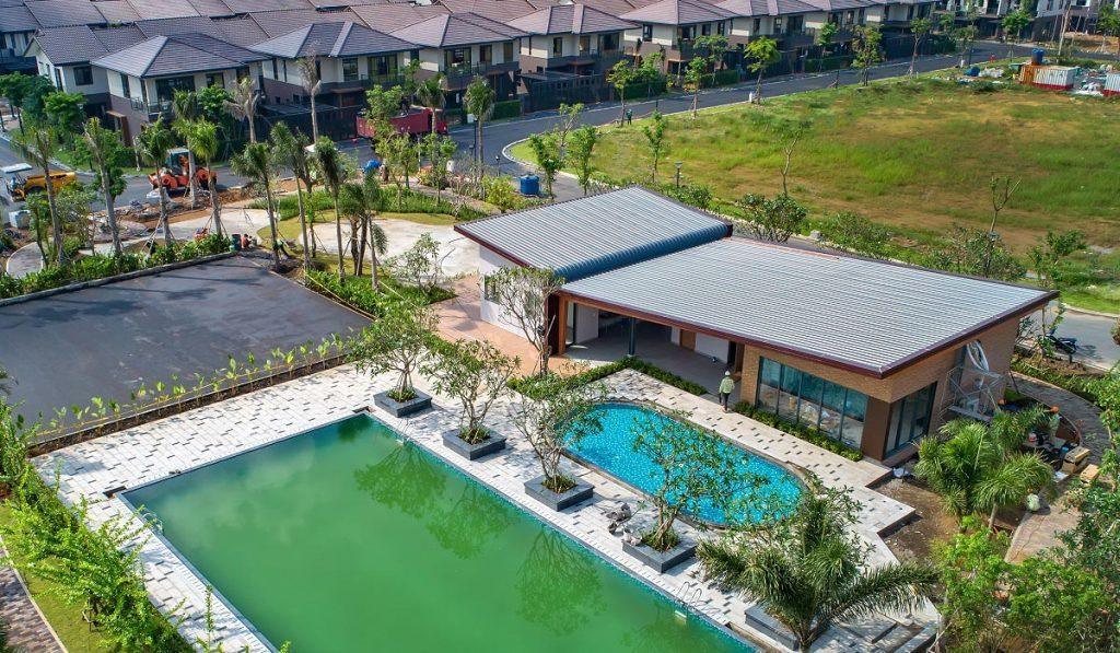 Khu Cluphouse khu Rivera 1 Waterpoint Nam Long tháng 10/2020