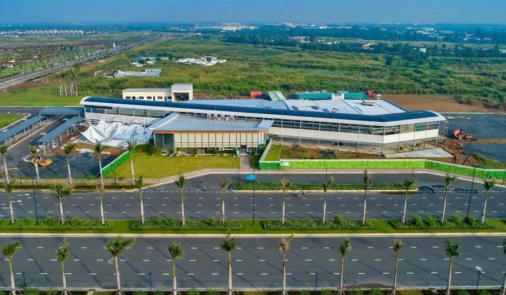 Tiến độ khu đa năng dự án Waterpoint Nam Long