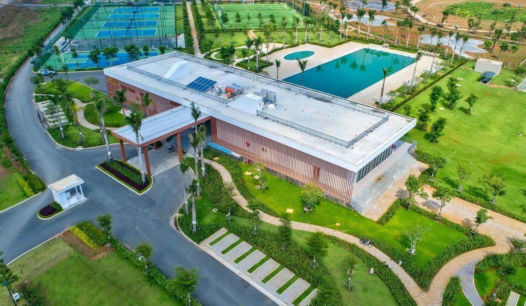 Tiến độ khu TDTT dự án Waterpoint Nam Long tháng 10/2020
