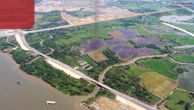 Hình ảnh dự án Waterfront Đồng Nai trong Báo cáo thường niên của Nam Long