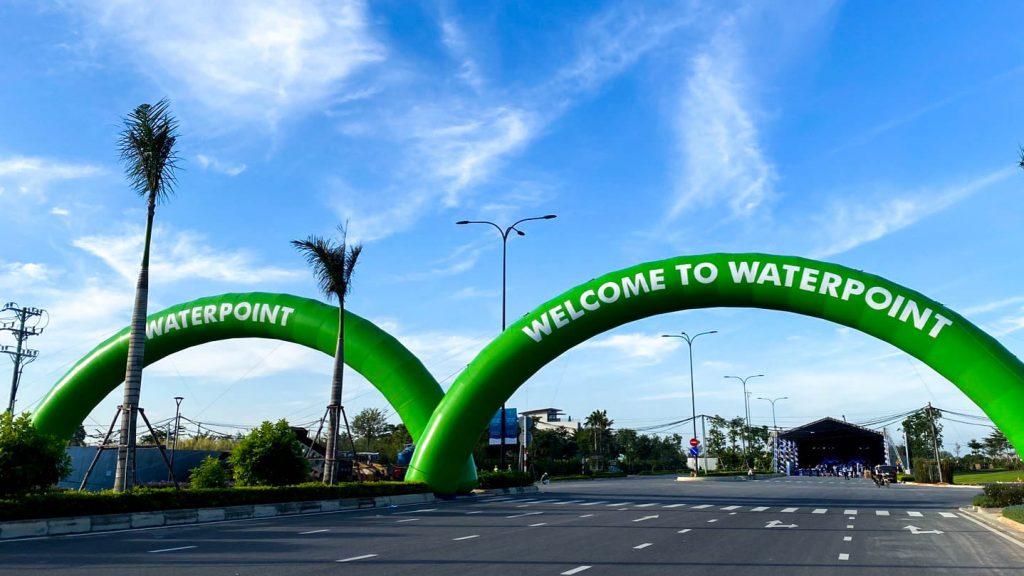 Cổng chào dự án Waterpoint