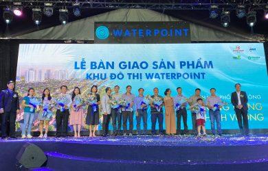 lễ bàn giao sản phẩm waterpointt