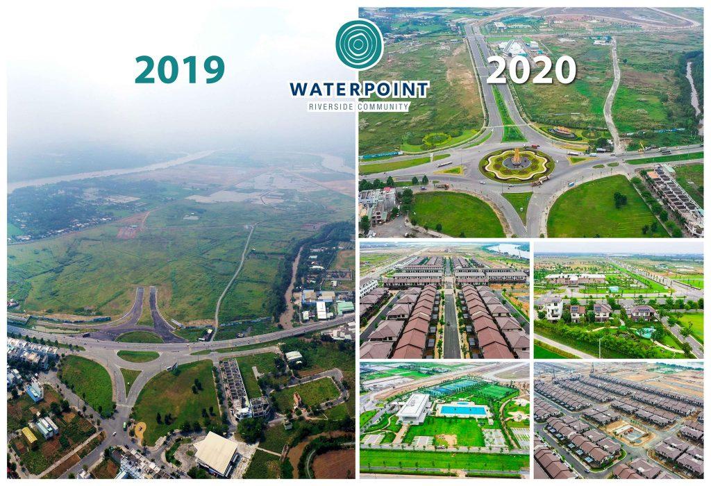 Sự thay đổi của Waterpoint sau 1 năm xây dựng